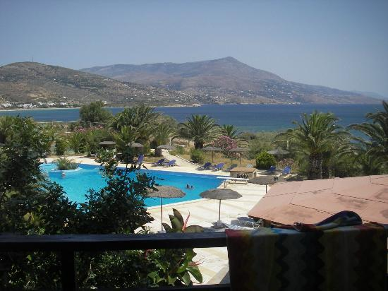 Andros Holiday Hotel: View from room