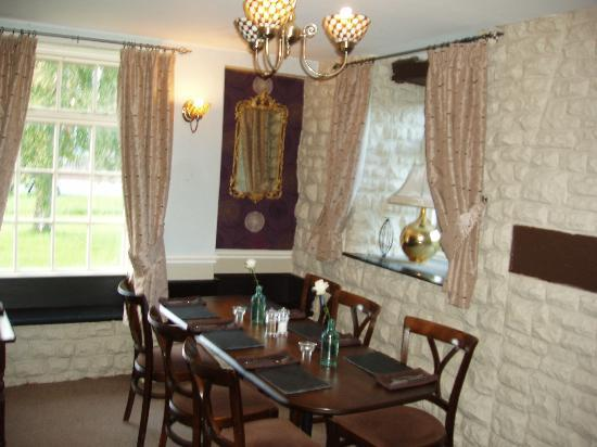 The Star Inn: dining room