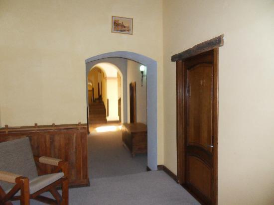 Hotel Sighisoara: Couloir