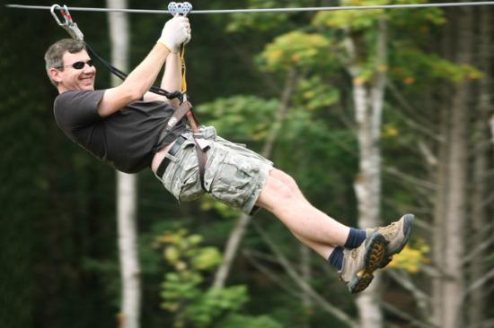 Nashville Shores Lakeside Resort: Treetop Adventure Park Zip Line