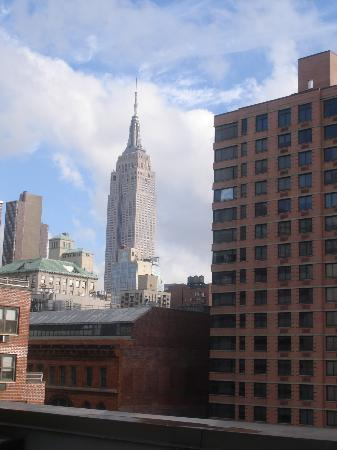 The Marcel at Gramercy : The view from the 10th floor terrace