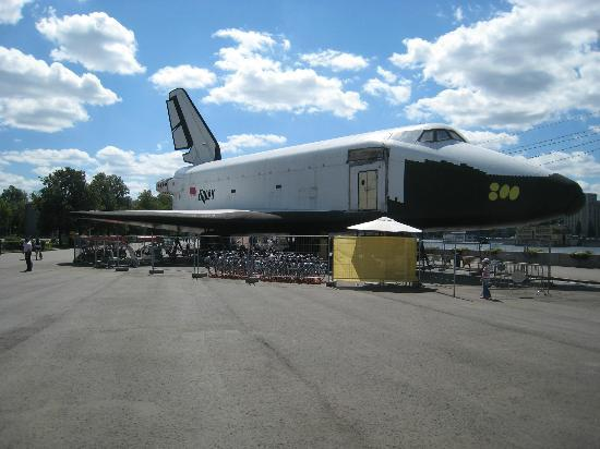 Gorkiy Central Park of Culture and Recreation: Boran space shuttle