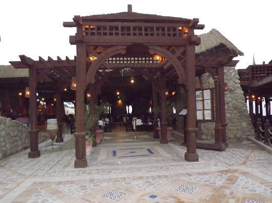 Faraana Reef Resort: ingresso grill