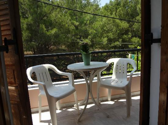 Pension Galini Ireon Village : View of the woods