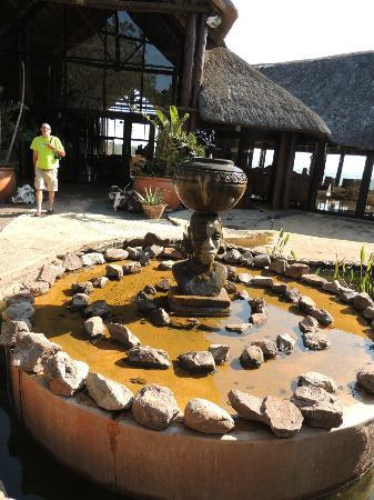 Zulu Nyala Game Lodge: Front of Dining Room