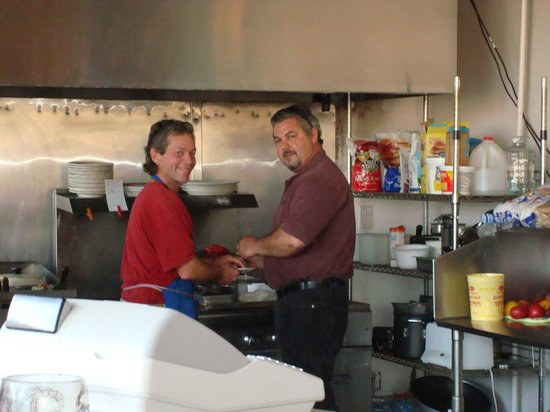 Las Parrillas Restaurant, Bar, and Grill : Tom and Roy