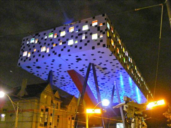 Ontario College of Art and Design: OCAD at night