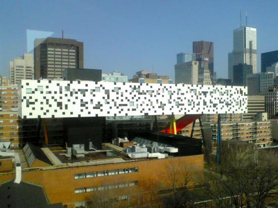 Ontario College of Art and Design: OCAD seen from Art Gallery of Ontario