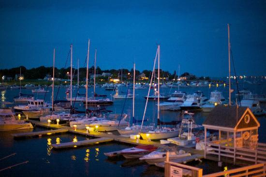 Michael's Harborside: The view from the deck