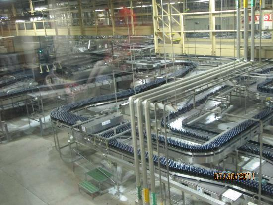 Anheuser-Busch Brewery Tours: Bottling