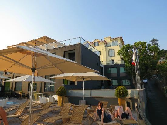 Quinta Mirabela : Hotel vu depuis la terrasse