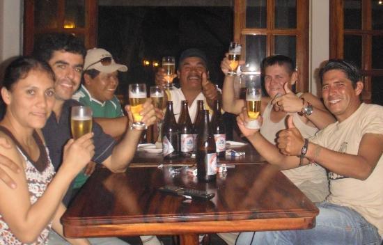 El Nomadico Bar Restaurant: More Drinks with friends