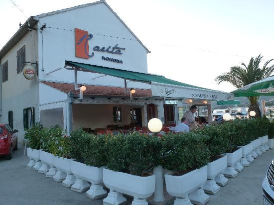 Rarita Korniza: Restaurant Rarita Or Komiza (different Names On Different  Sides!) U0026