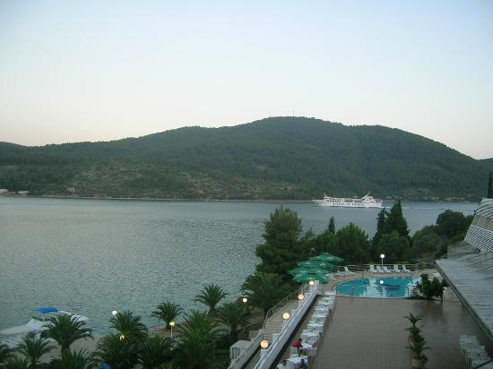 Hotel Adria: View from our room