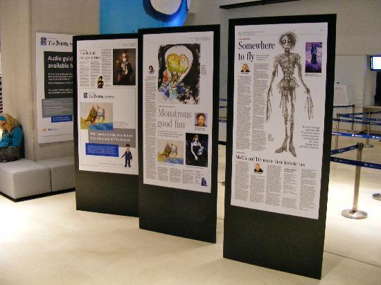 TIFF Bell Lightbox: Part of the Tim Burton Exhibition