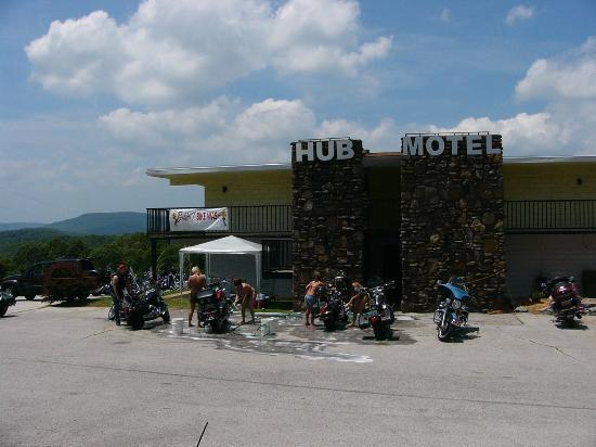 The Hub Motel: Bikini Bike Wash