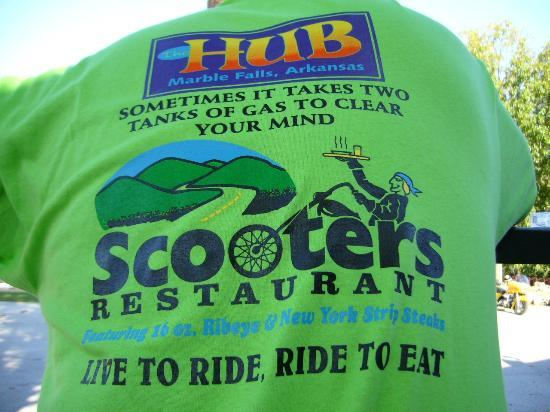 ‪‪The Hub Motel‬: Scooters restaurant at the HUB