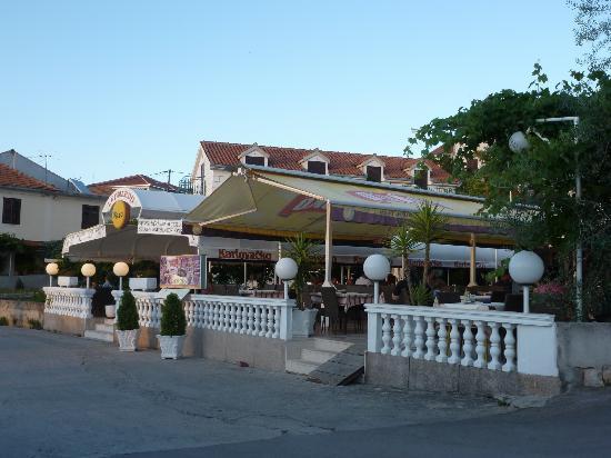 Leonardo restaurant by Okrug Gornji harbour