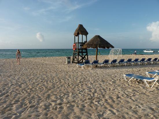 Sandos Caracol Eco Resort: Plage