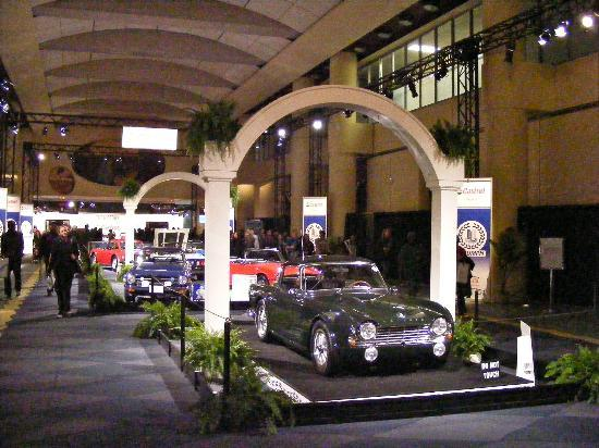 Metro Toronto Convention Centre: Triumph Classic Cars at Auto Show
