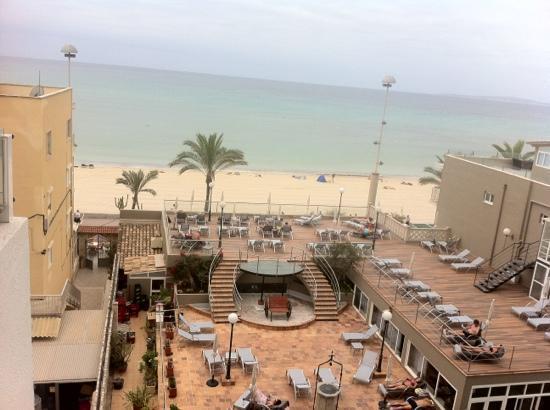 Sunprime Palma Beach: fra balkong