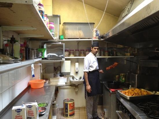 Kitchen Picture Of The Taj Mahal Indian Restaurant Takeaway Penzance Tripadvisor