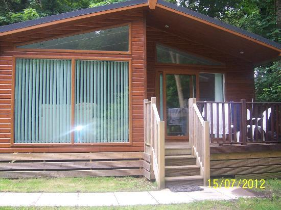 St. Ives Holiday Village: royal gold lodge