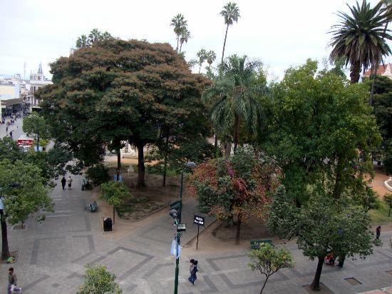 Hotel Colonial Salta: Vista desde habitación 319