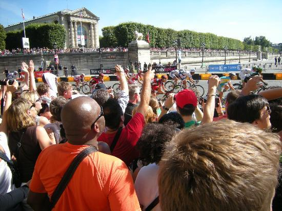 Paris, France: Le Tour de France, finish 2012.