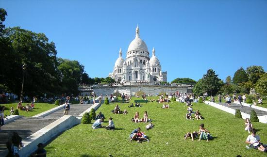 París, Francia: Basilique du Sacré-Coeur de Montmartre