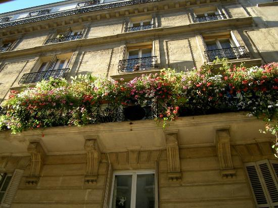 Paris, France: Beautiful balcony