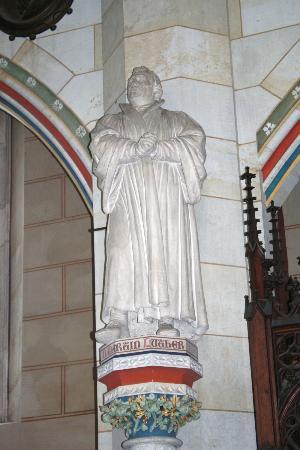 Schlosskirche: Martin Luther