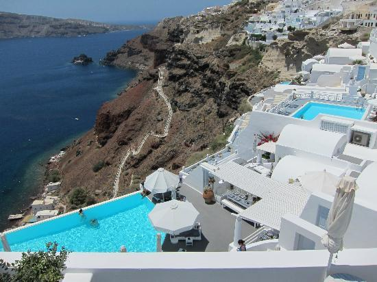 Katikies Hotel : View of hotel