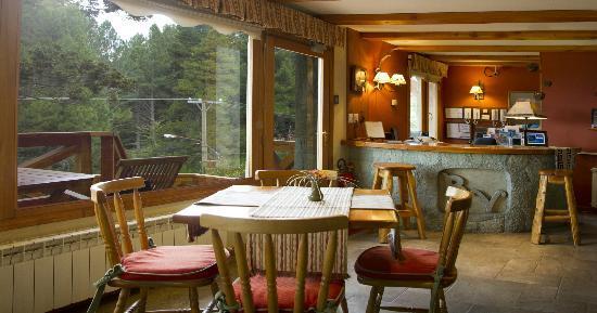 Bungalows Buena Vista: Desayunador y recepción