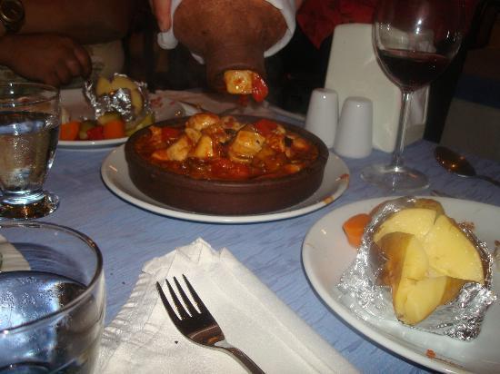 Our House Restaurant: amphora kebab