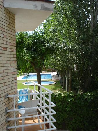Apartamentos Sunway Apollo: View from side balcony