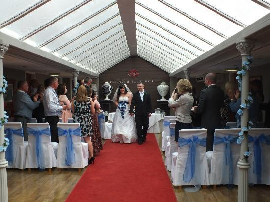 Beamish Park Hotel: ceremony room