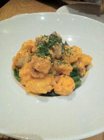 Nobu: Shrimp with Spicy Aioli