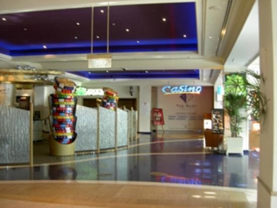 The Reef Casino: ホテルと繋がっています