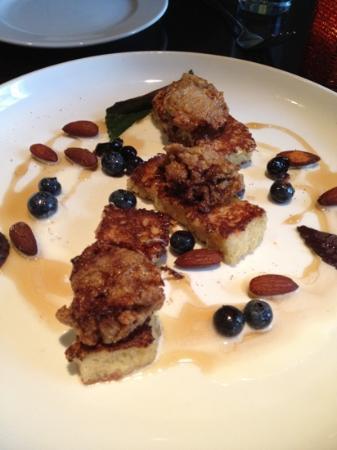 Grove : fried chicken livers with brioche - amazing!