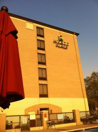 Hyatt Place Indianapolis Airport: pool side view