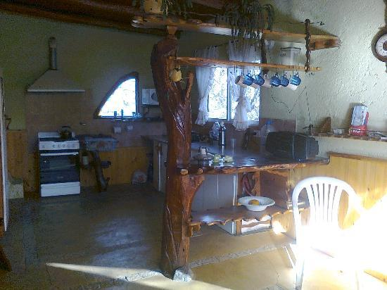 La Casa de Wanda: Cocina para huéspedes de la hostería