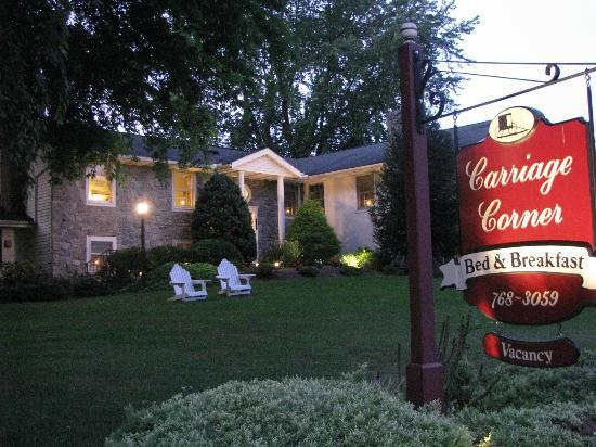 Carriage Corner Bed and Breakfast : Perfect Summer Evening
