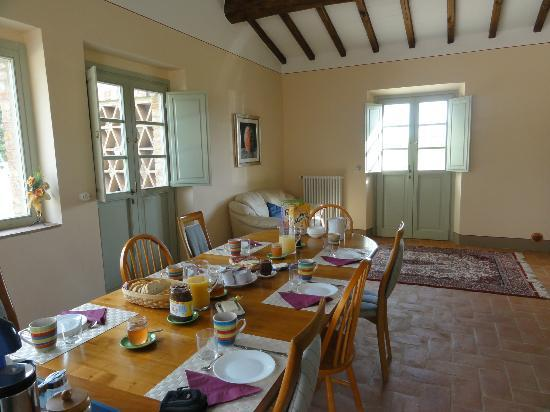 Agriturismo I Savelli:  salle a manger