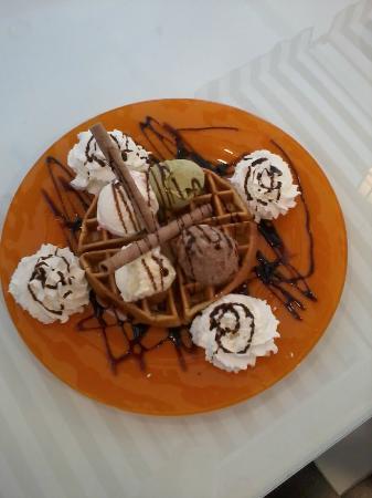 Paulina Ice Creamy: belguem waffle