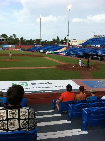Tradition Field: Great seats