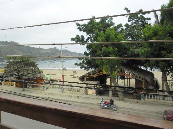 Hotel Pacifico: vista desde la terraza