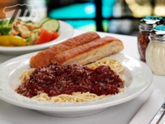 Minsky's Pizza: Minsky's Spaghetti and Meatballs