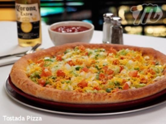 Minsky's Pizza: Minsky's Tostada Pizza