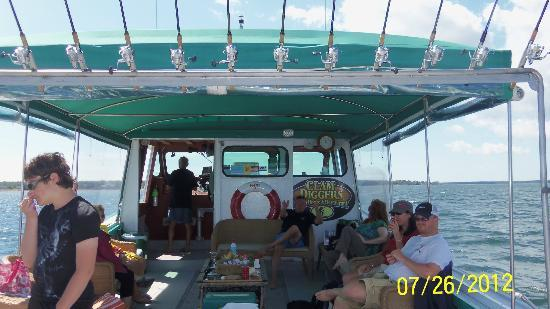 Tranquility Cove Adventures: Comfortable ride